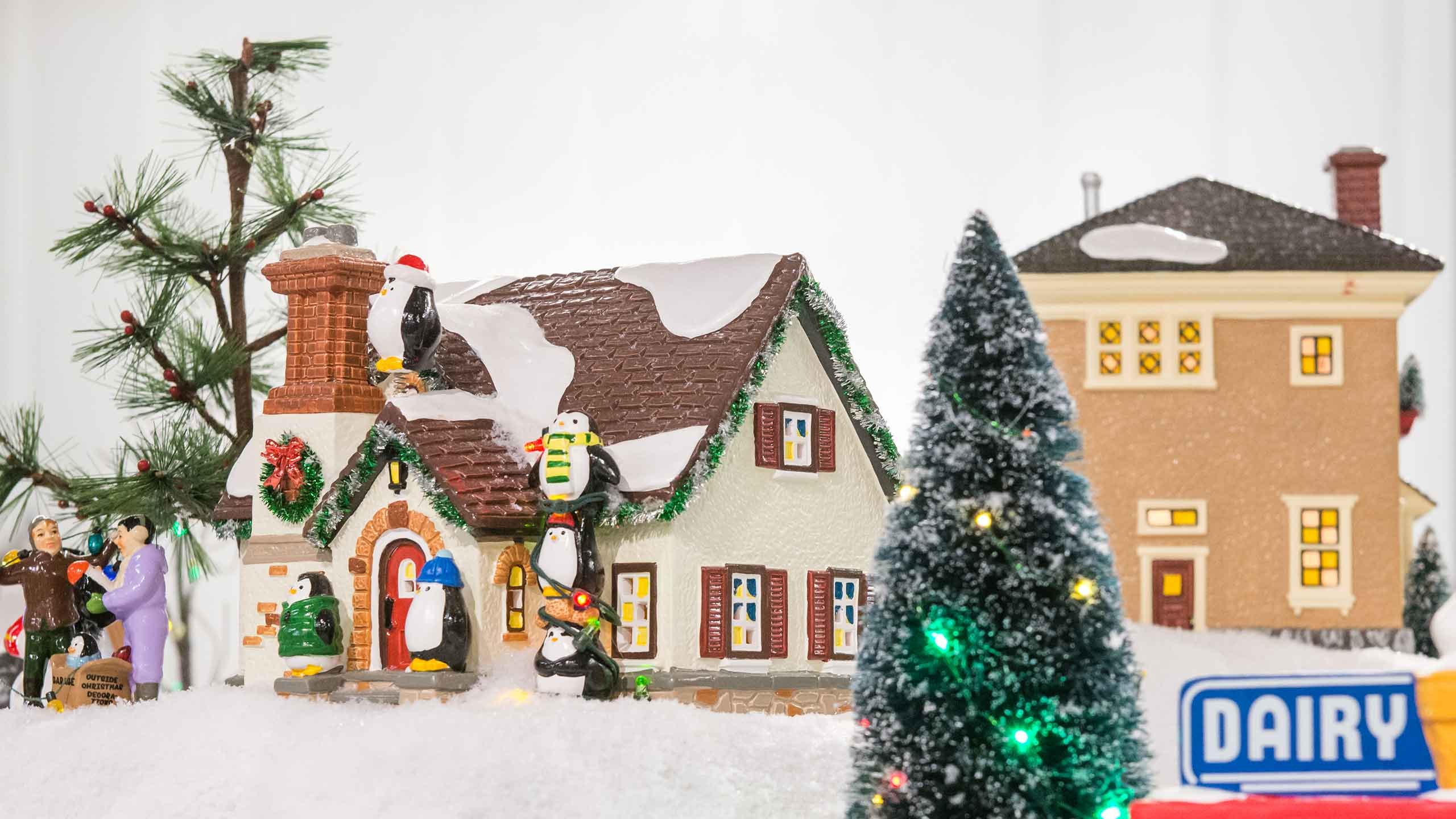 department 56 is putting their focus on expanding the original snow village a collection celebrating the history and culture found in our own main street
